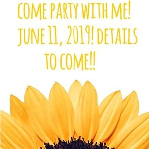 I'm co-hosting my first party!! 🎉🌟